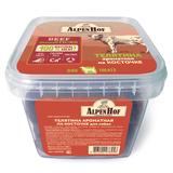 AlpenHof Телятина ароматная на косточке для собак, пластиковый контейнер