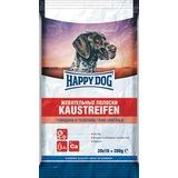 Happy Dog лакомство для собак Жевательные полоски с говядиной и телятиной