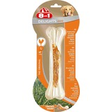 8in1 DELIGHTS Strong L косточка сверхпрочная с куриным мясом для крупных собак 21 см