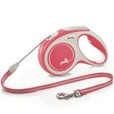 Flexi New Comfort M, рулетка 8 м, трос, для собак до 20 кг