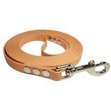R-Dog Поводок из биотана, усиленный стальной карабин, цвет бежевый