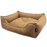 Pride Антивандальный лежак КЭМЕЛ, суперплотная ткань, цвет коричневый
