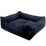 Pride Антивандальный лежак КЭМЕЛ, суперплотная ткань, цвет темно-синий