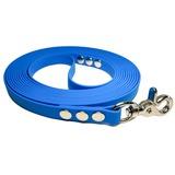 """R-Dog Поводок из биотана, стальной карабин """"клещи"""", цвет голубой"""