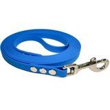 R-Dog Поводок из биотана, усиленный стальной карабин, цвет голубой