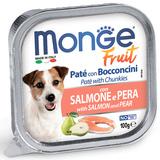 Monge Dog Fruit консервы для собак с лососем и грушей 100г