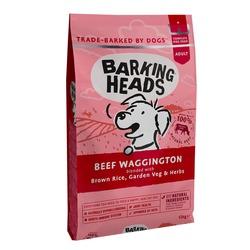 """Barking Heads сухой корм для собак, с говядиной и бурым рисом """"Вуф-строганов"""", Beef Waggington"""