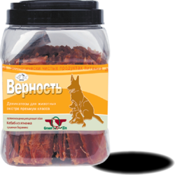 Green Cuisine ВЕРНОСТЬ (Мягкое сушеное мясо ягненка) Грин Кьюзин, 750 гр.