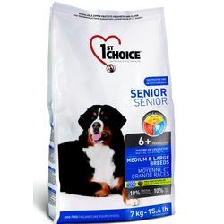 1st Choice Senior для пожилых собак средних и крупных пород с курицей, вес 7 кг