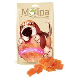 Molina Куриные чипсы, 80 гр.