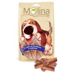 Molina Стейк из ягненка и курицы, 80 гр.