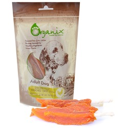 Organix «Куриное филе на палочке» Лакомство для собак (100% мясо) (Chicken fillet/ bleached twist stick)100 гр