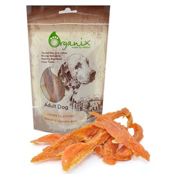 Organix «Полоски из куриного филе» Лакомство для собак (100% мясо) (Chicken fillet/ strip)100 гр