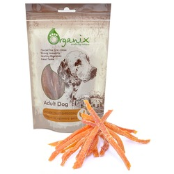Organix «Нарезка из куриного филе» Лакомство для собак (100% мясо) (Chicken fillet/ shredding)100 гр