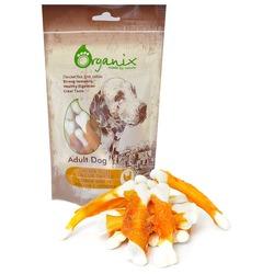 Organix «Куриное филе на косточке с кальцием» Лакомство для собак (100% мясо) (Chicken fillet/ calcium twisted) 100 гр