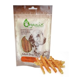 Organix «Твистеры куриные» Лакомство для собак (100% мясо) (Chicken fillet/ twist stick) 100 гр