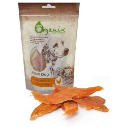 Organix «Куриное филе» Лакомство для собак (100% мясо) (Chicken fillet) 100 гр