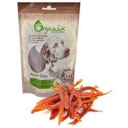 Organix «Нарезка утиного филе» Лакомство для собак (100% мясо) (Duck fillet/ shredding) 100 гр