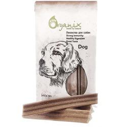 "Organix ""Зубные палочки Дентал Стик"", макси, Dental Sticks Large, лакомство для собак, 180 гр"