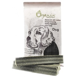 "Organix ""Зубные палочки Дентал Стик"", макси с эвкалиптом, Dental Sticks Large Fresh Eucaliptus, лакомство для собак, 180 гр."