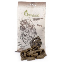 "Organix ""Подушечки-мишки"" с ягненком и курицей, Duo Bears, лакомство для собак, 100 гр."