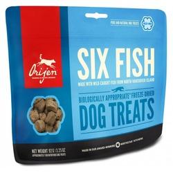 Orijen FD Six Fish Dog лакомство для собак 6 видов рыбы
