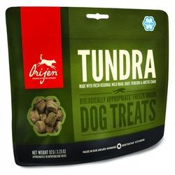 Orijen Tundra Dog лакомство для собак с мясом лося, перепелкой и форелью