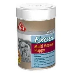 8 in 1 Excel мультивитамины для щенков, 100 табл.