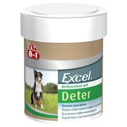 8 in 1 Excel Deter Детер средство от поедания фекалий, 100 таб.