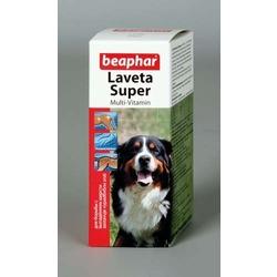 Beaphar Витамины для шерсти собак Laveta Super For Dogs, 50мл, капли.