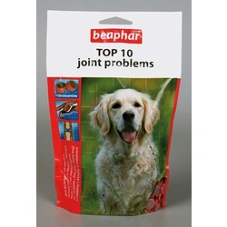 Beaphar Top 10 Joint Problems — Пищевая добавка с глюкозамином, 150 гр.