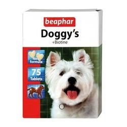 Beaphar Doggy's + Biotin Витаминизированное лакомство, 75 табл.