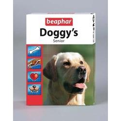 Beaphar Doggy's Senior Витаминизированное лакомство для собак старше 7 лет, 75 табл.