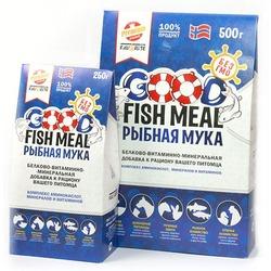 Good Fish Meal Рыбная мука- белково-витаминно-минеральная добавка
