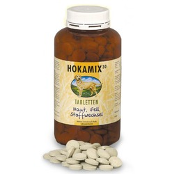 Hokamix 30 Tabletten натуральный витаминизированный комплекс дополнительного питания из 30 целебных и пищевых трав