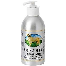 Hokamix Skin&Shine супер-витамины для кожи и шерсти собак и кошек, масло 250 мл, Хокамикс Скин энд Шайн