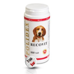 Polidex Recovit plus Полидекс Рековит (1 табл. на 5 кг)