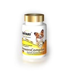 Unitabs Brewers complex витамины с пивными дрожжами для собак мелких пород, 100 табл.