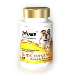 Unitabs UNITABS SlimComplex с Q10 для собак с избыточной массой тела с целью ее снижения, 100 табл.
