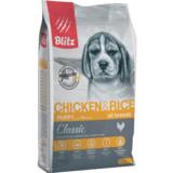 Blitz сухой корм для щенков всех пород с курицей Blitz Classic Chicken & Rice Puppy All Breeds