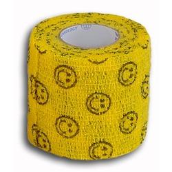 Andover бандаж PetFlex, улыбка на желтом