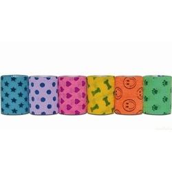 Andover бандаж PetFlex, цветной с рисунком (мультицвета)