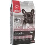 Blitz сухой корм для щенков всех пород с ягнёнком и рисом BLitz Sesitive Lamb & Rice Puppy All Breeds