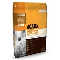 Acana Heritage Puppy Large Breed, сухой корм для щенков крупных пород с курицей, рыбой, фруктами и овощами (70/30)