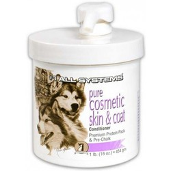 1 All Systems Pure Cosmetic Skin & Coat Conditioner крем-кондиционер для шерсти и кожи, 454мл (Premium Pro Pack&Pre-Chalk)