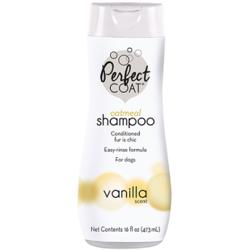 Perfect Coat Успокаивающий кожу, овсяный шампунь Natural Oatmeal Shampoo, 473 мл.