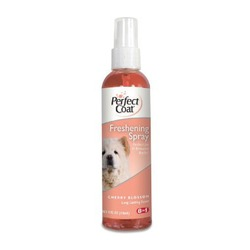 Perfect Coat освежающий спрей с ароматом цветущей вишни Freshening Spray Cherry Blossom, 118 мл.