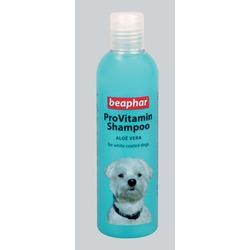 Beaphar шампунь для белых окрасов, Pro Vitamin Shampoo White/Blue, 250 мл.