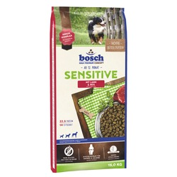 Bosch Sensitive Lamb&Rice, гипоаллергенный сухой корм для собак
