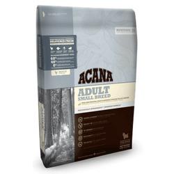 Acana Heritage Adult Small Breed, сухой корм для взрослых собак мелких пород с курицей, рыбой, фруктами и овощами (60/40)